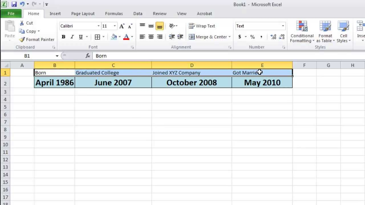 how to make a timeline microsoft office