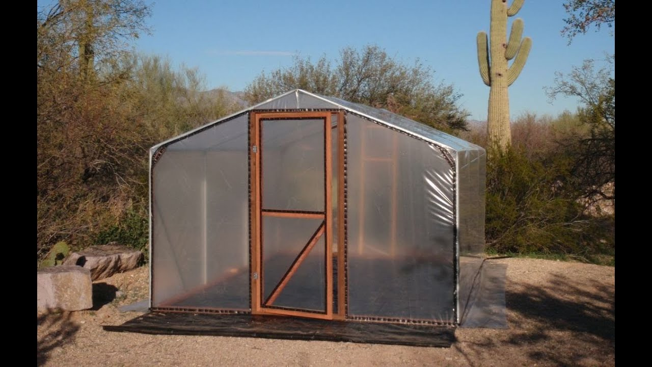 Build Small Greenhouse Build A Better Greenhouse An Affordable Small Hobby House YouTube