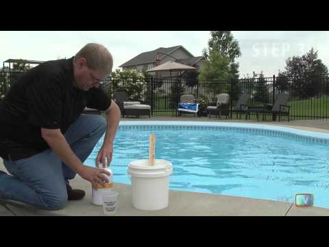 How to open and balance your swimming pool Swimming pool high alkalinity