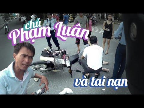 Ride Diary 24 - CHUYỆN CHÚ LUÂN VƯỢT XE TẢI | GIÚP NGƯỜI TAI NẠN GIAO THÔNG - FzS - Vietnam motovlog