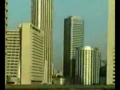 Singapore: taxi ride to airport... (1998)