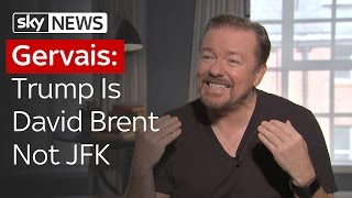 Ricky Gervais: David Brent vs Donald Trump