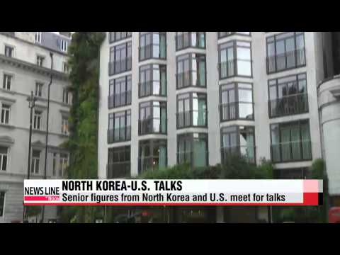 Senior figures from North Korea and U.S. meet for talks on