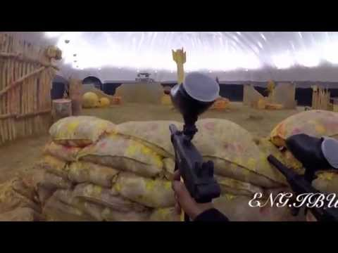 Paintball in Al-Forsan Sport in Abu-Dhabi UAE with GoPro3+