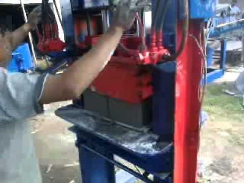 Mesin Cetak Paving Batako type Manual Hidrolik