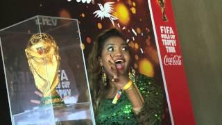جولة كأس العالم مع كوكاكولا / World Cup's Trophy Tour by Coca-Cola