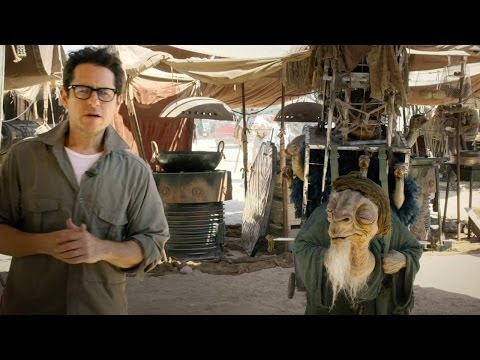 Star Wars Episode VII - first official images from set with J.J. Abrams