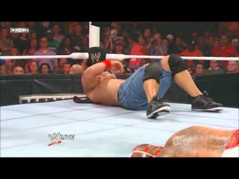 WWE Monday Night Raw 2011/07/25 :  WWE Championship Match John Cena vs Rey Mysterio [PART2]