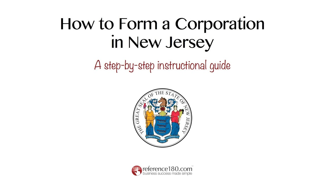 How to Incorporate in New Jersey