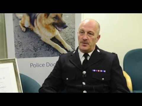West Yorkshire Police Dog and His Handler Awarded Medal from the PDSA