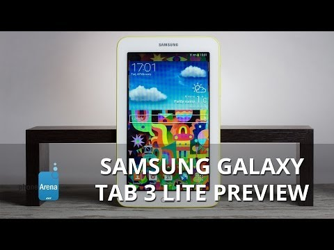 Samsung Galaxy Tab 3 Lite Preview