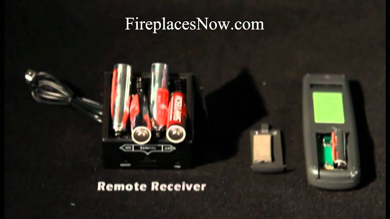 How To Install A Fireplace Remote Youtube