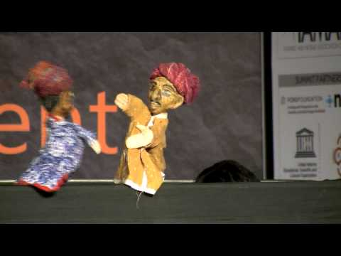 Puppet show::10th Manthan Award Asia Pacific Gala 2013