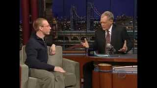 David Letterman Mathematics Genius Prodigy Daniel Tammet Math 3.14 Pi Day