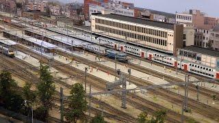Lahnsteiner Modellbahntage : Spur H0 Anlage Hauptbahnhof Hasselt von Ivo Schraepen