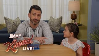 Jimmy Kimmel's MAKEUP TUTORIAL with Goddaughter