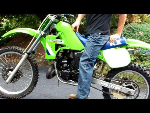1986 Kawasaki KX250 KX 250