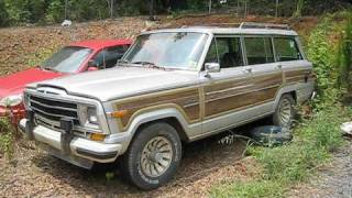 1987 Jeep Grand Wagoneer Attempt To Start, Engine, and In Depth Tour