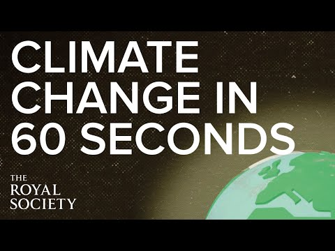 An introduction to climate change in 60 seconds
