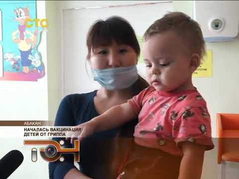Началась вакцинация детей от гриппа