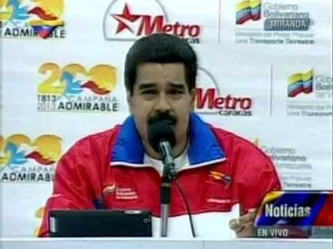 Maduro sobre Leopoldo López