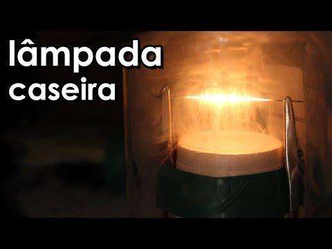 Como fazer uma lâmpada caseira (experiência de elétrica)