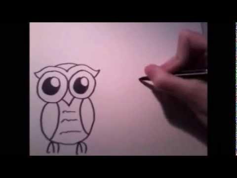Grappige dieren tekenen