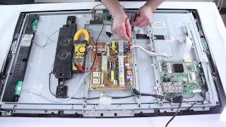 Samsung LCD TV How To Repair No Power-TV Will Not Turn On