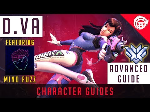 Overwatch DVa In Depth Guide - Mastering D.Va With Mindfuzz (collab) | Advanced Guide