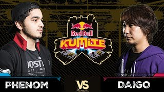 Red Bull Kumite 2017: Phenom vs Daigo | Losers Round 3