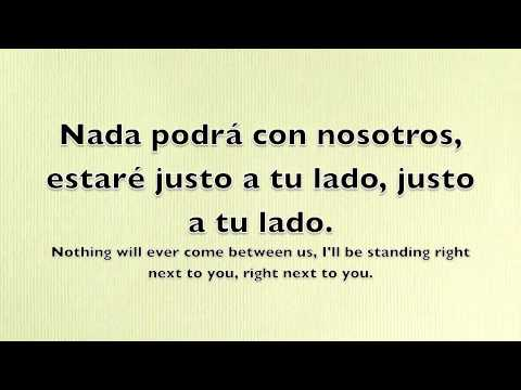 Next To You - Chris Brown feat. Justin Bieber (Translated to Spanish)