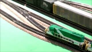 MY N-SCALE TRAINS VIDEO #3 MY GO TRANSIT TRAIN :