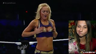 WWE Smackdown 9/26/14 Divas Tag Team Live Commentary