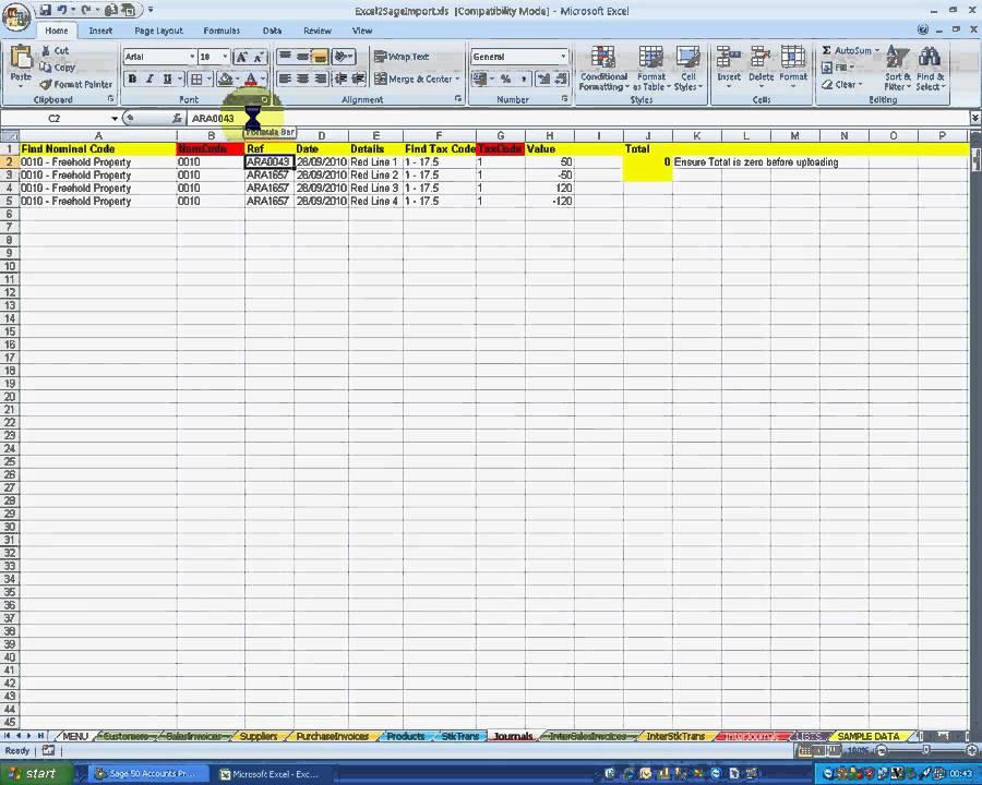print general ledger reports