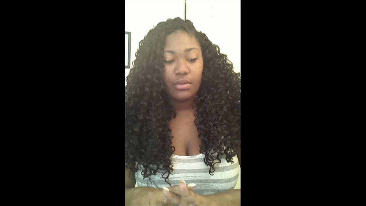Freetress Crochet Hair Youtube : Crochet Braids - Freetress Gogo Curl - YouTube