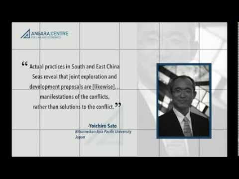 Video intro on Angara Centre forum and roundtable discussion on territorial maritime disputes