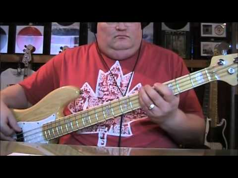 Billy Joel Piano Man Bass Cover with Bass Notes and Tab