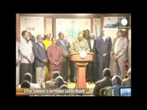 South Sudan president alleges coup attempt
