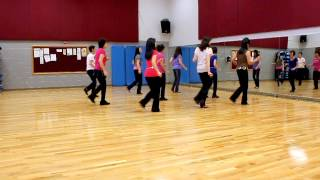 Blurry Lines Line Dance (Dance & Teach In English