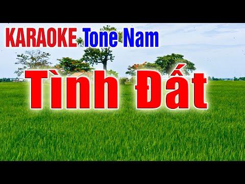 Tình Đất   Karaoke Nhạc Sống Thanh Ngân