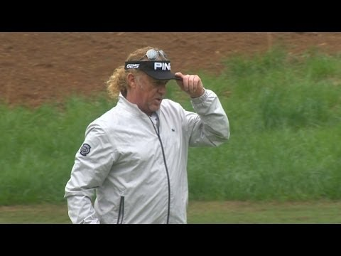 Miguel Angel Jimenez makes a successful debut at the Greater Gwinnett