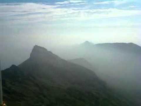 Savan Pindaria - At the top of the Girnar mountain