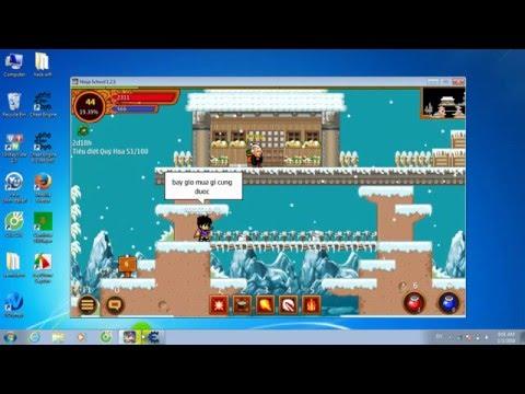 Hướng dẫn hack yên và xu game ninja school online
