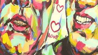 لوحات للسلام والحب ينجزها رسام فيتنامي