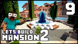Minecraft: How To Make a Mansion - Part 9