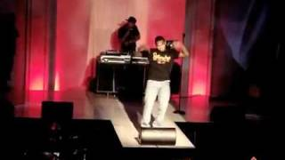 Chris Brown Performing Teach Me How To Dougie / Old School