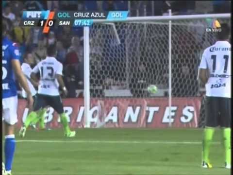 [HQ]CRUZ AZUL vs SANTOS (2-1) SEMI-FINAL VUELTA 2013 (5-1) GLOBAL
