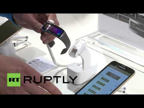 Spain: Samsung's smartwatch fitness boost, the Gear Fit