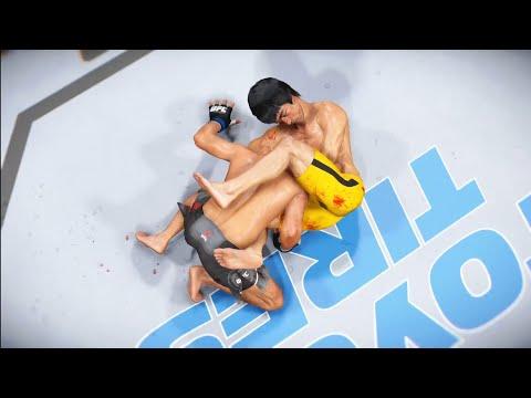 UFC Boston Bruce lee vs Yair Rodríguez Return of the legend
