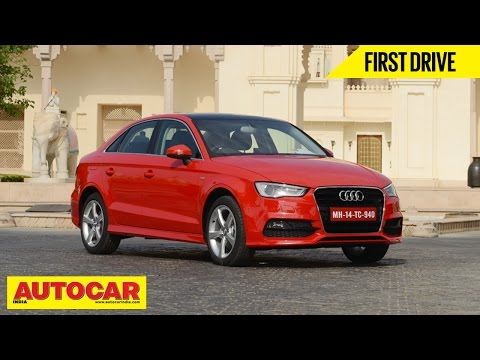 2014 Audi A3 Sedan 35TDI Diesel   First Drive Video Review   Autocar India